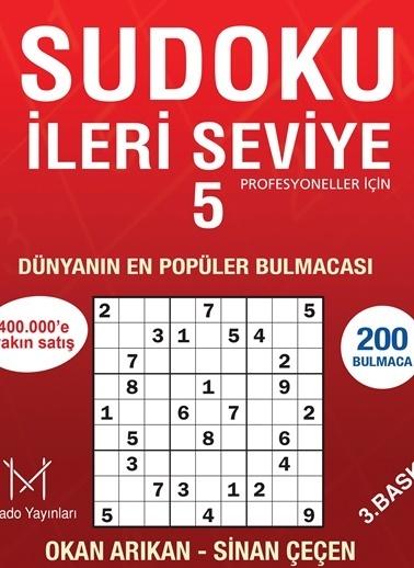 Sudoku İleri Seviye - 5-Mikado